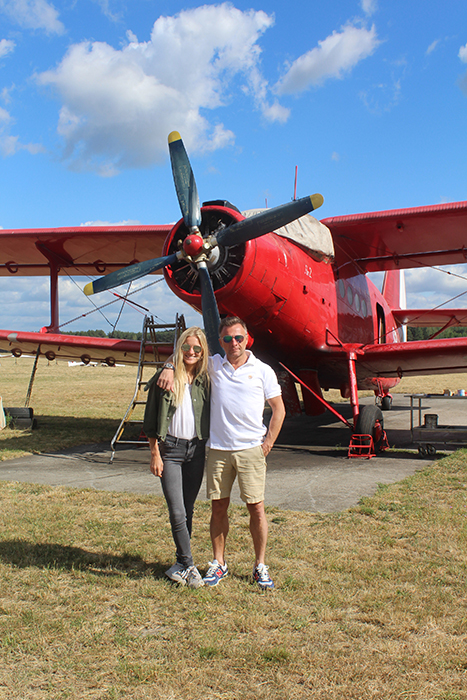 Julie Zabek en haar vader Marek Zabek