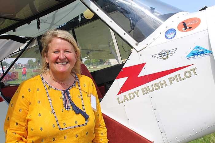Lady Bush Pilot Rate One