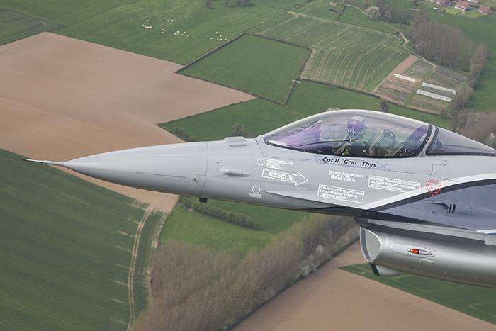 F16 Belgische valk