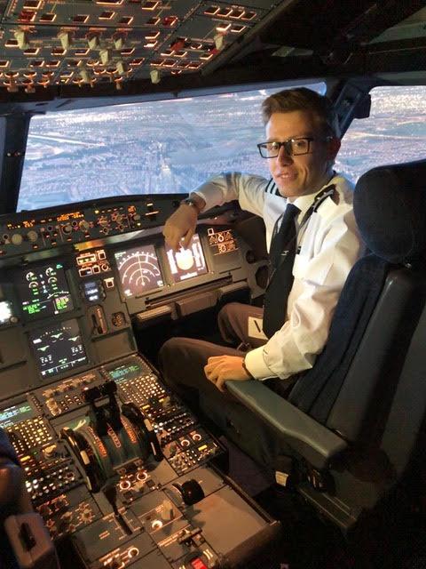 Piloot Thomas Vandenberghe uit Menen
