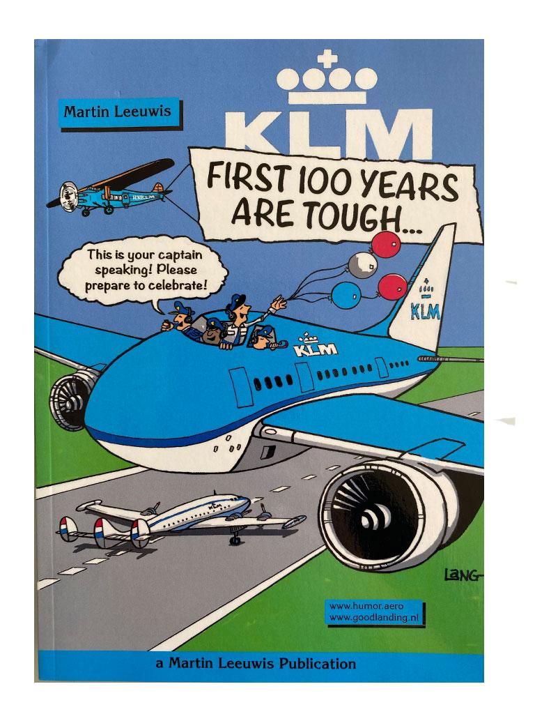 Cover boek KLM