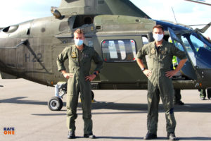Piloten Nils en Stijn