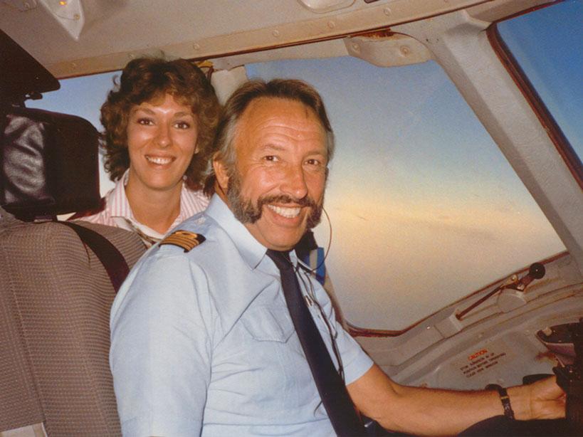 Piet Van Riet en Ingrid