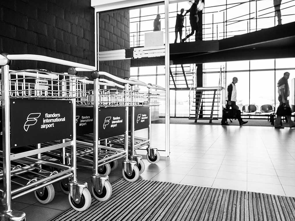 Luchthavengebouw Wevelgem