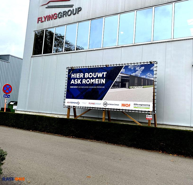 Gebouw Flying Group Antwerpen