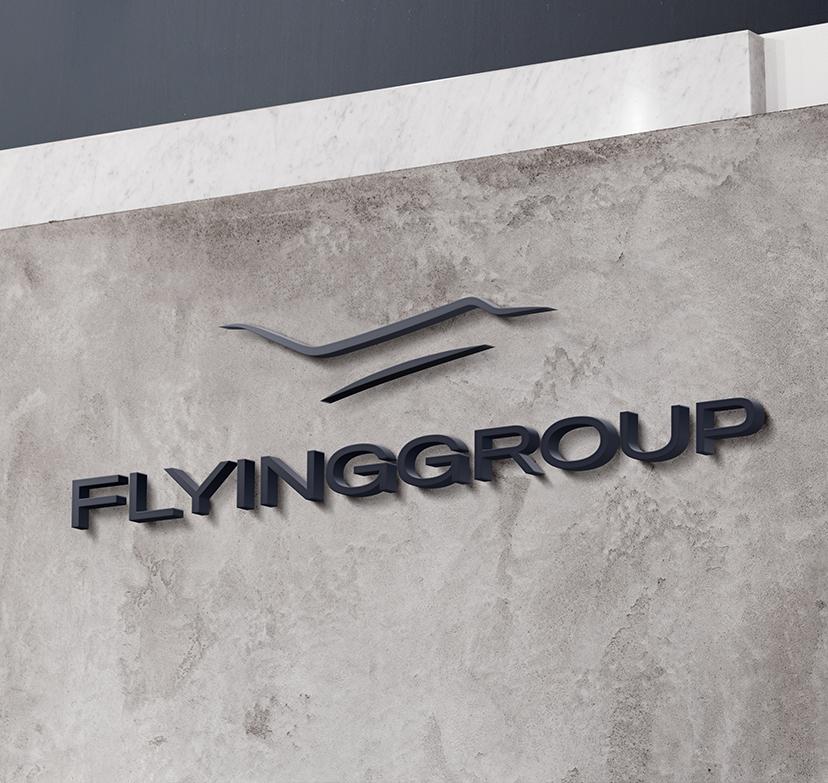 Nieuw logo FlyingGroup anno 2020