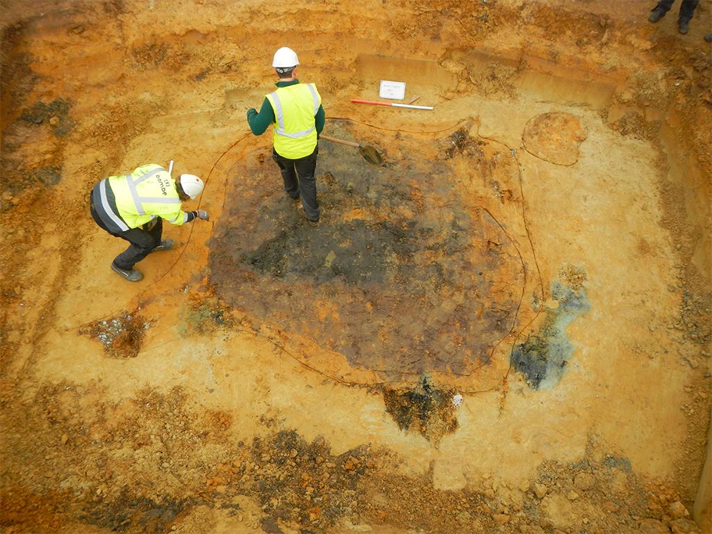 Opgravingen vliegtuigen