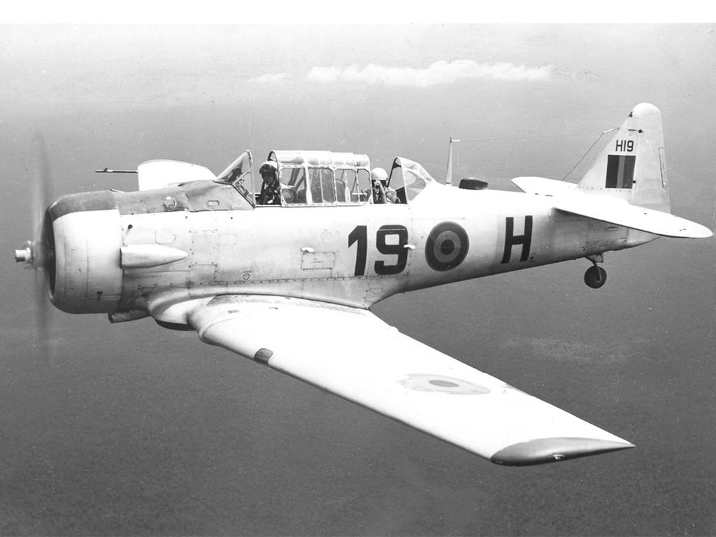 Harvard H19 gevechtsvliegtuig