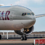 Qatar Airways op Brussels Airport