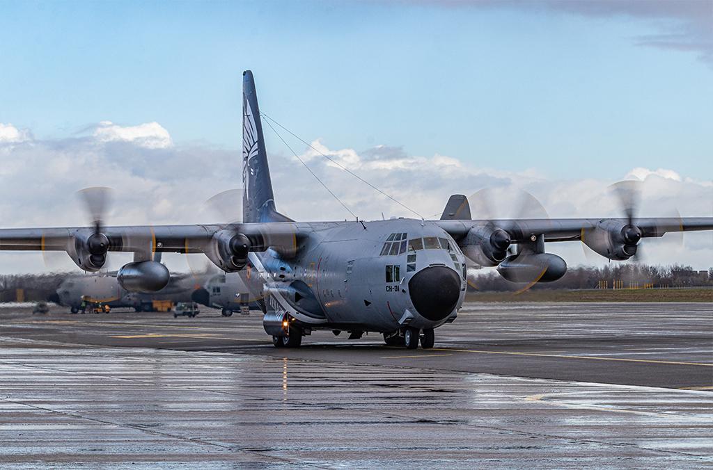 CH01 Hercules Belgische Luchtmacht