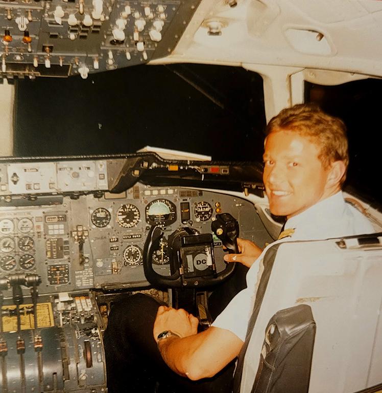 Sabena Cockpit DC10