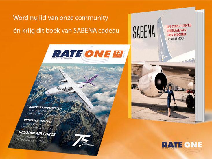 Lid worden, gratis boek Sabena