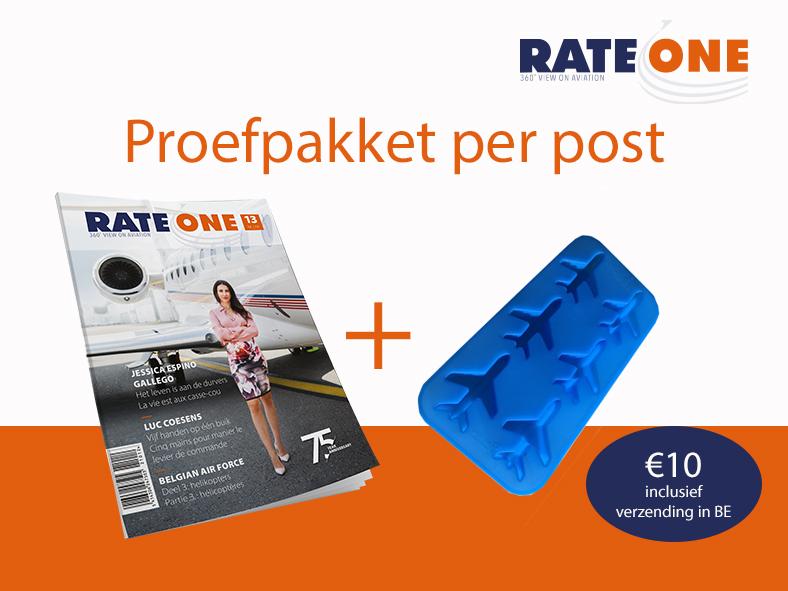 Proefpakket RateOne Magazine