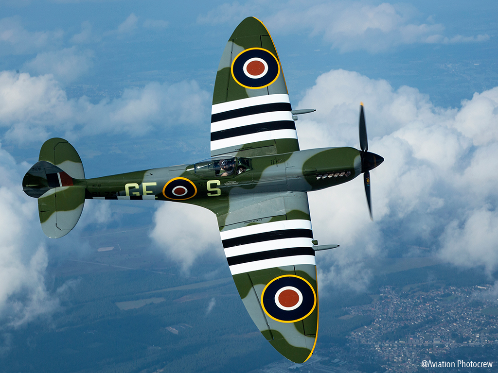 Spitfire Vormezeele - Aviation Photocrew
