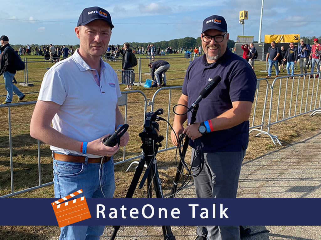 RateOne Talk cameraman en geluidsman